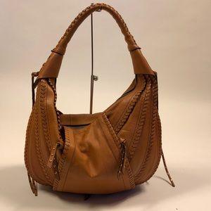 OrYANY Brown Whipstitch Hobo Bag Purse